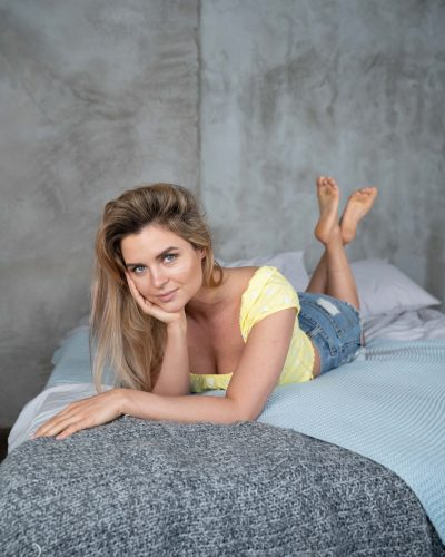 Girl With Perfect Feet